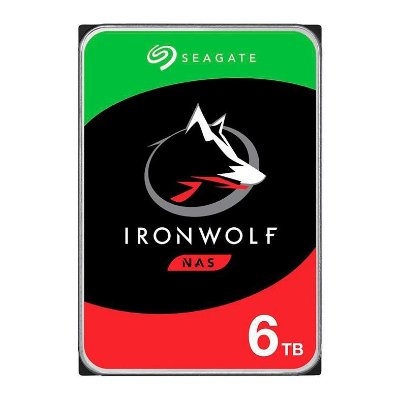 "HD SEAGATE IRONWOLF 6TB 3.5"" SATA III 6GB/S - ST6000VN001"