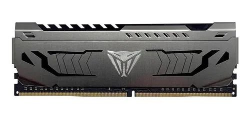 MEMÓRIA DDR4 PATRIOT VIPER STEEL, 8GB 3200MHZ, BLACK - PVS48G320C6