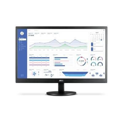 "MONITOR LED AOC 23,6"" WIDESCREEN PRETO - M2470SWH2"