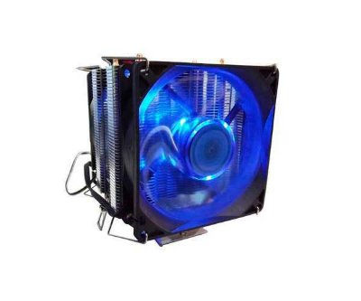 COOLER CPU DEX DX-9100D DUPLA FANS LED AZUL 92MM