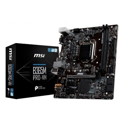 PLACA MAE MSI B365M PRO-VH DDR4 SOCKET LGA1151 CHIPSET INTEL B365
