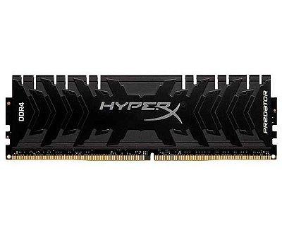 MEMORIA KINGSTON HYPERX PREDATOR 16GB (1X16) DDR4 3000MHZ PRETA - HX430C15PB3/16