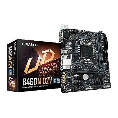PLACA MAE GIGABYTE B460M D2V DDR4 SOCKET LGA1200 INTEL B460