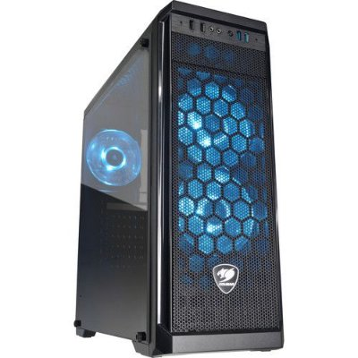 GABINETE GAMER COUGAR MX330-G AIR MID-TOWER CASE, C/ 3 FANS – 385NC10.0021