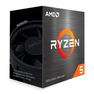 PROCESSADOR AMD RYZEN 5 5600X HEXA-CORE 3.7GHZ (4.6GHZ TURBO) 35MB CACHE AM4 - 100-100000065BOX