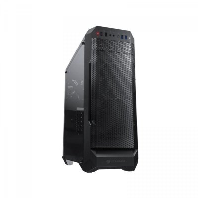 GABINETE GAMER COUGAR, MX331 MESH, MID-TOWER, BLACK,  SEM FONTE, COM 1 FAN - 385NC20.0004