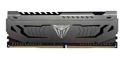 MEMÓRIA DDR4 PATRIOT VIPER STEEL, 16GB 3000MHZ, BLACK - PVS416G300C6