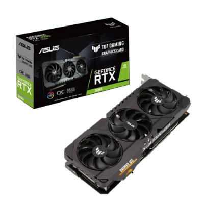 PLACA DE VÍDEO ASUS TUF GEFORCE, RTX 3090 OC, 24GB GDDR6X, 384BIT - TUF-RTX3090-O24G-GAMING