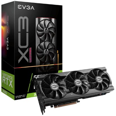 PLACA DE VÍDEO EVGA NVIDIA GEFORCE RTX 3080, 10GB, GDDR6X - 10G-P5-3885-KR