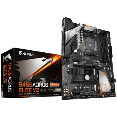 PLACA MÃE B450 AORUS ELITE V2 SOCKET AM4 GIGABYTE