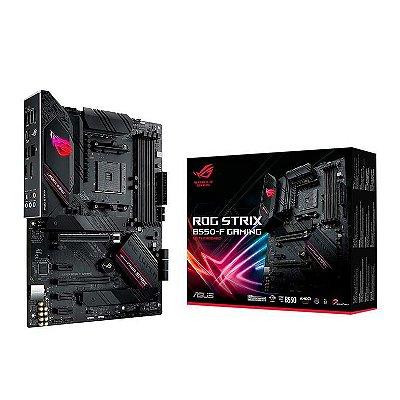 PLACA MAE ASUS ROG STRIX B550-F GAMING DDR4 SOCKET AM4 CHIPSET AMD B550