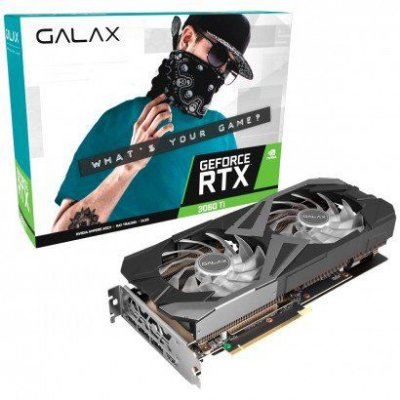 PLACA DE VIDEO GALAX GEFORCE RTX 3060 TI EX 8GB GDDR6 1-CLICK OC 256-BIT - 36ISL6MD1WGG