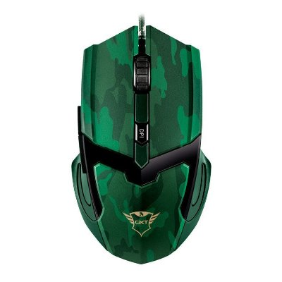 MOUSE GAMER TRUST GXT 101C GAV 4800DPI JUNGLE CAMO - T22793