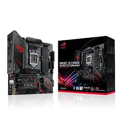 PLACA MAE ASUS ROG STRIX B460-G GAMING DDR4 SOCKET LGA1200 INTEL B460