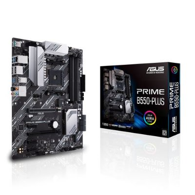 PLACA MAE ASUS PRIME B550-PLUS DDR4 SOCKET AM4 CHIPSET AMD B550