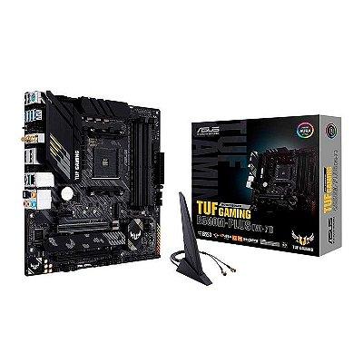 PLACA MAE ASUS TUF GAMING B550M-PLUS WI-FI DDR4 SOCKET AM4 CHIPSET AMD B550