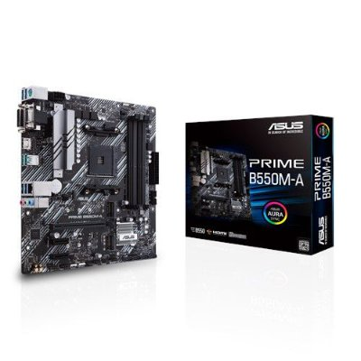 PLACA MAE ASUS PRIME B550M-A DDR4 SOCKET AM4 CHIPSET AMD B550