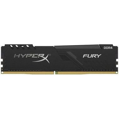 MEMÓRIA HYPERX FURY, 16GB 3200MHZ DDR4, PRETO - HX432C16FB4/16