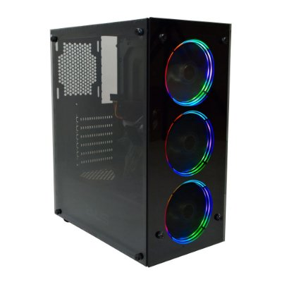 COMPUTADOR GAMER INTEL CORE I5 10400F, 16GB DDR4, SSD 120GB, HD 1TB, RX 580 8GB