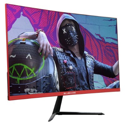 MONITOR GAMER BLUECASE R3000 24´, CURVO, FULL HD, HDMI/DISPLAY PORT, 165HZ 1MS - FREESYNC - BM244GCCASE