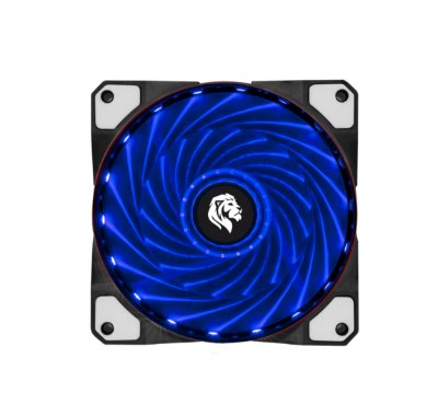 COOLER HAYOM LED AZUL P/ GABINETE,  12CM - FC1300B