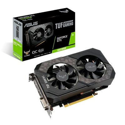 PLACA DE VIDEO ASUS GEFORCE GTX 1660 SUPER 6GB TUF OC 192-BIT - TUF-GTX1660S-O6G-GAMING