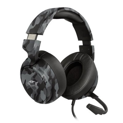 HEADSET GAMER TRUST GXT 433K PYLO MULTIPLATAFORMA BLACK CAMO - T23939
