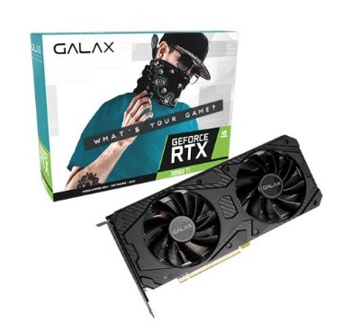 PLACA DE VIDEO GALAX GEFORCE RTX 3060 TI 8GB GDDR6 1-CLICK OC 256-BIT - 36ISL6MD1VDD