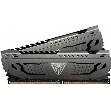 MEMÓRIA DDR4 PATRIOT VIPER STEEL, 32GB (2X16GB) 3000MHZ, BLACK - PVS432G300C6K
