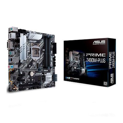 PLACA MAE ASUS PRIME Z490M-PLUS DDR4 SOCKET LGA1200 INTEL Z490