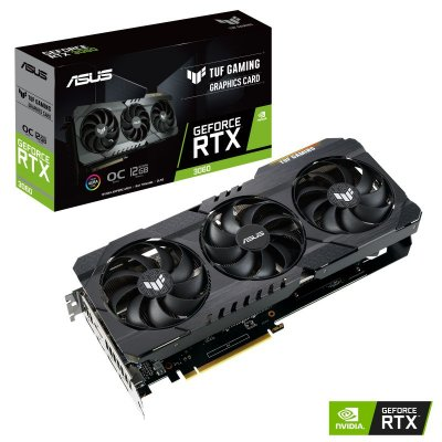 PLACA DE VIDEO ASUS GEFORCE RTX 3060 OC 12GB GDDR6 TUF GAMING  - TUF-RTX3060-O12G-GAMING