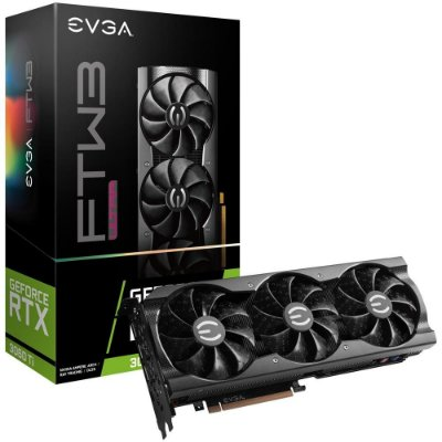 PLACA DE VÍDEO EVGA NVIDIA GEFORCE RTX 3060 TI FTW3 ULTRA GAMING, 8GB, GDDR6 - 08G-P5-3667-KR