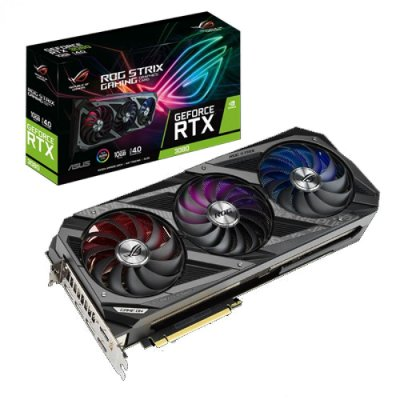 PLACA DE VÍDEO ASUS ROG STRIX GEFORCE, RTX 3080, 10GB, GDDR6X, 320BIT - ROG-STRIX-RTX3080-10G-GAMING