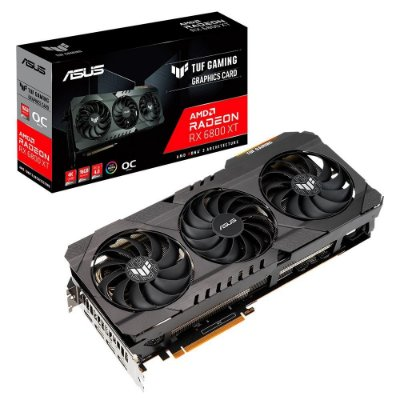 PLACA DE VIDEO ASUS RADEON RX 6800 XT OC 16GB TUF GAMING GDDR6 256-BIT - TUF-RX6800XT-O16G-GAMING