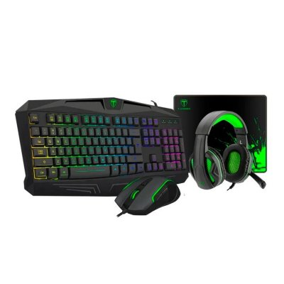 KIT GAMER  4IN1 T-DAGGER LEGION TECLADO, MOUSE, HEADSET E MOUSEPAD - T-TGS003
