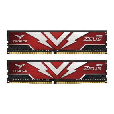 MEMORIA TEAM GROUP T-FORCE ZEUS 16GB (2X8) DDR4 3200MHZ - TTZD416G3200HC20DC01