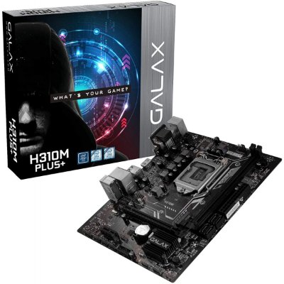 PLACA MÃE GALAX H310M PLUS+, CHIPSET H310, INTEL LGA 1151, MATX, DDR4