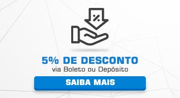 Novo - 5% de Desconto