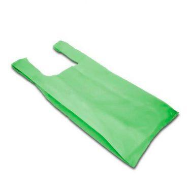 Sacola Alça Camiseta Verde Reciclada