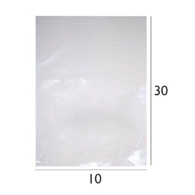 Saco Plástico de Polietileno - PEBD - 10x30