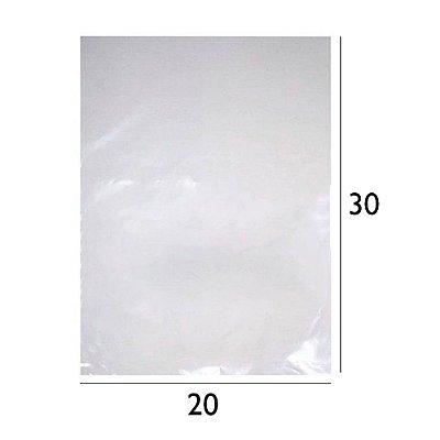 Saco Plástico de Polietileno - PEBD - 20x30