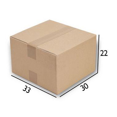 Caixa de Papelão N27 - 30 x 33 x 22