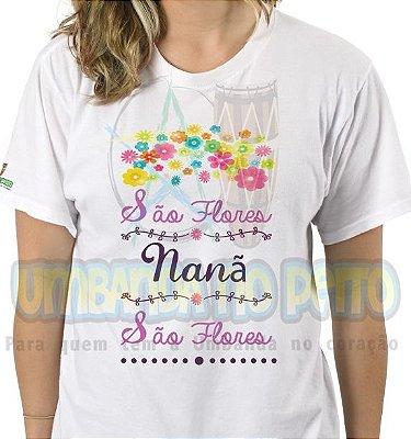 Camiseta São Flores Nanã