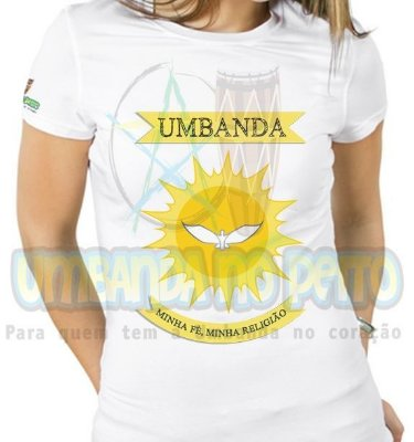 Baby Look Umbanda Minha Fé