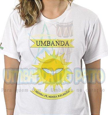Camiseta Umbanda Minha Fé