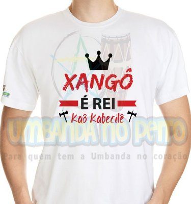 Camiseta Xangô é Rei
