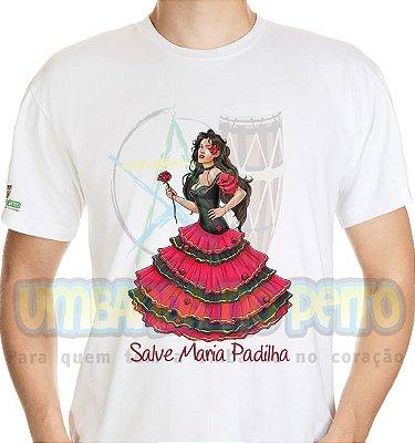 Camiseta Salve Maria Padilha (Algodão / TAM P)