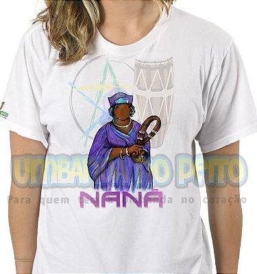 Camiseta Nanã Coleção Orixás (Algodão / TAM GG)