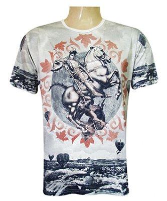 Camiseta São Jorge Capadócia Viscose