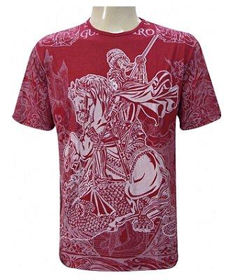 Camiseta Vermelha Salve Jorge Viscose
